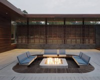 Outdoor Fire Pit Seating Ideas That Blend Looks And ...