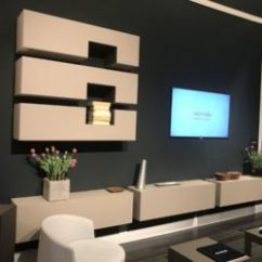 Interior Design Ideas Living Room Tv Unit Modern Decor 2018 How High To Mount The Blend Looks And Comfort