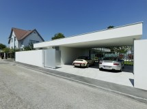 Modern House Design with Parking