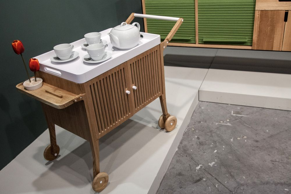 diy kitchen island on wheels japanese knife modern bar cart designs that impress with their ...