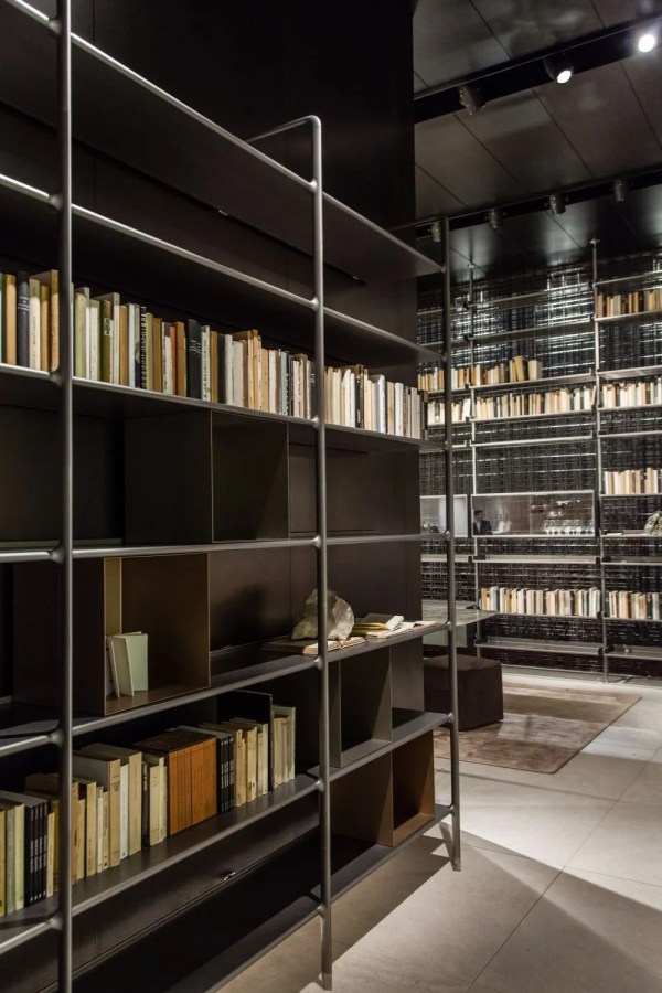 Home Library Bookshelf Ideas