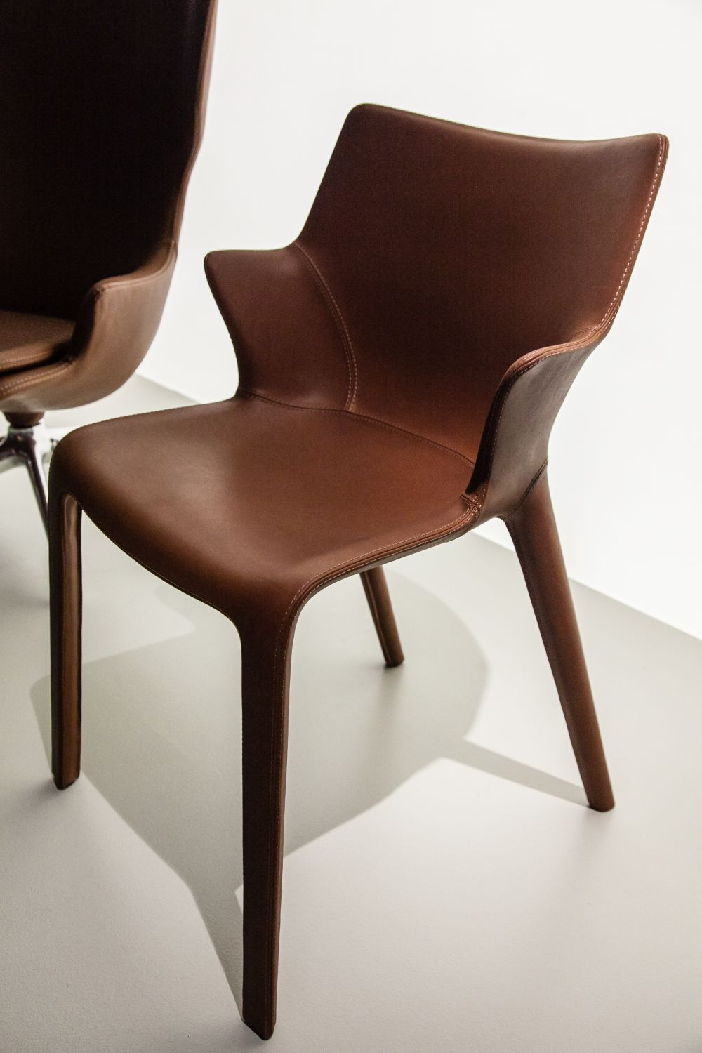 leather dining chairs ergonomic chair wiki prove elegance is timeless view in gallery