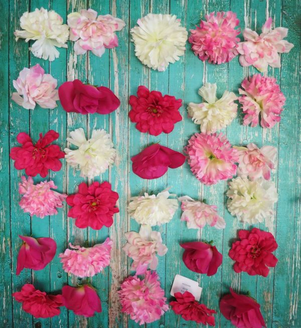 DIY Wall Decor Hanging Flowers