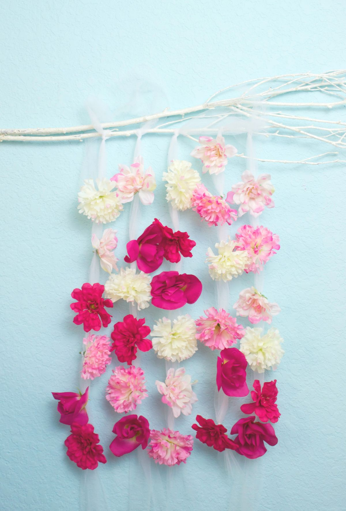 Floral Wall Hanging DIY Decor