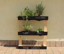 Make Pallet Herb Garden