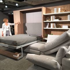 Murphy Bed In Small Living Room Colours With Brown Furniture 50 Awesome Designs Inspired By Spaces Space Saving Beds And Sofas