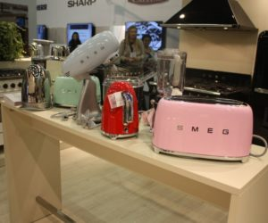 colored kitchen appliances the latest gadgets infused with retro charm are making a needs to blend practicality and style but at same time it should reflect personality character of person who designed those