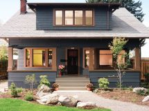 Craftsman Bungalow House Colors