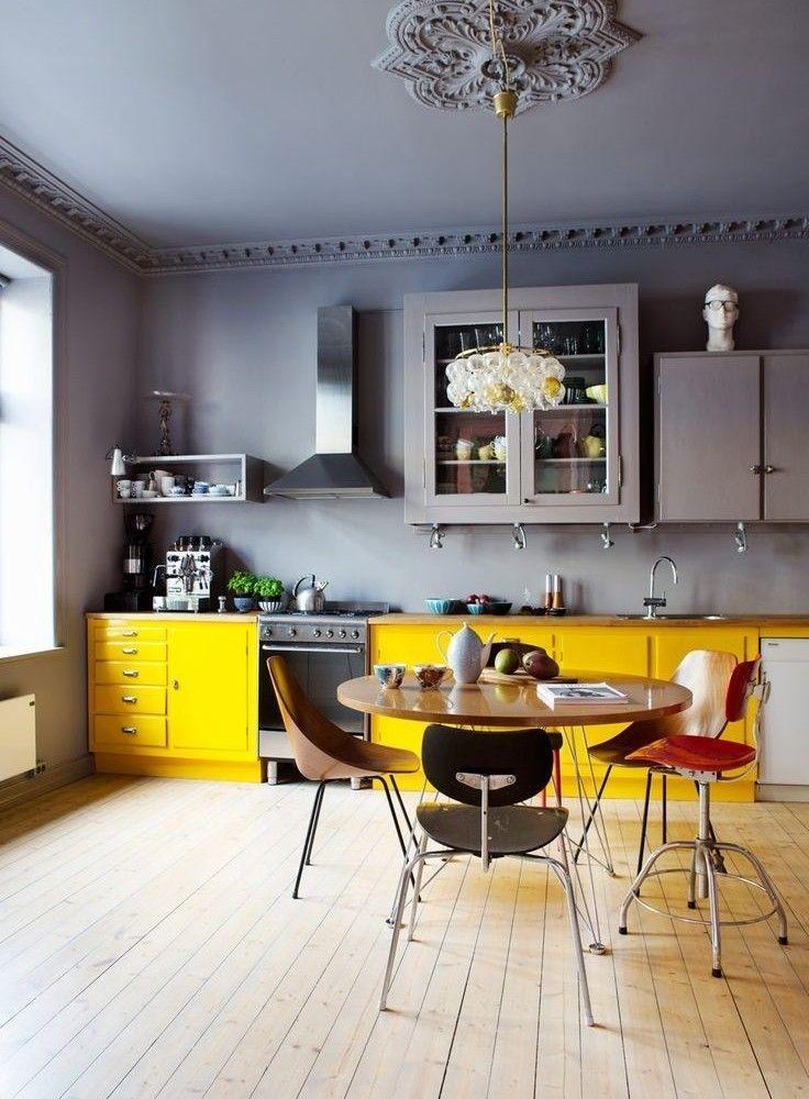 beach house kitchen backsplash ideas overhead lights 100个厨房软装饰设计布置方案 润柏家 灰色厨房软装饰设计布置方案