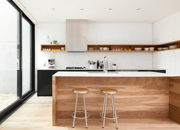 black and white wood kitchen design ideas 100 Beautiful Kitchens To Inspire Your Kitchen Makeover