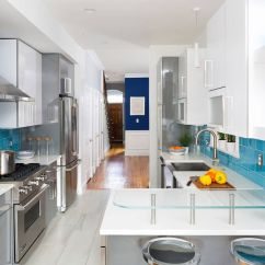 Cream Colored Kitchen Cabinets Lowes Kitchens 12 Tips To Make The Most Of Your Galley