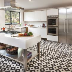 Tiled Kitchen Floors Rohl Faucets 18 Beautiful Examples Of Floor Tile 6 Small Pattern