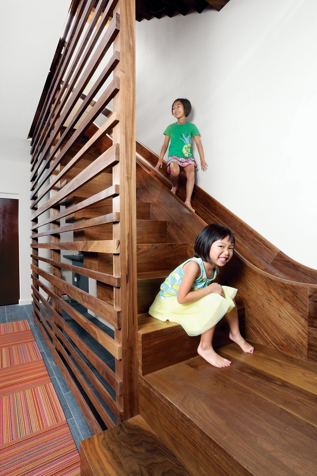 7 Cool Buildings With Stair Slides And Happy Kids | Spiral Staircase With Slide | Modern | 1930'S | Interior | Cool | Stainless Steel Spiral