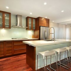 Glass Kitchen Backsplash Standard Cabinets Cool Ways To Update A With View In Gallery