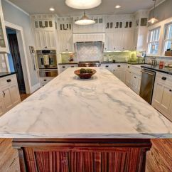 Granite Kitchen Countertops Pictures Compact Table Quartz Vs Pros And Cons White Countertop Design