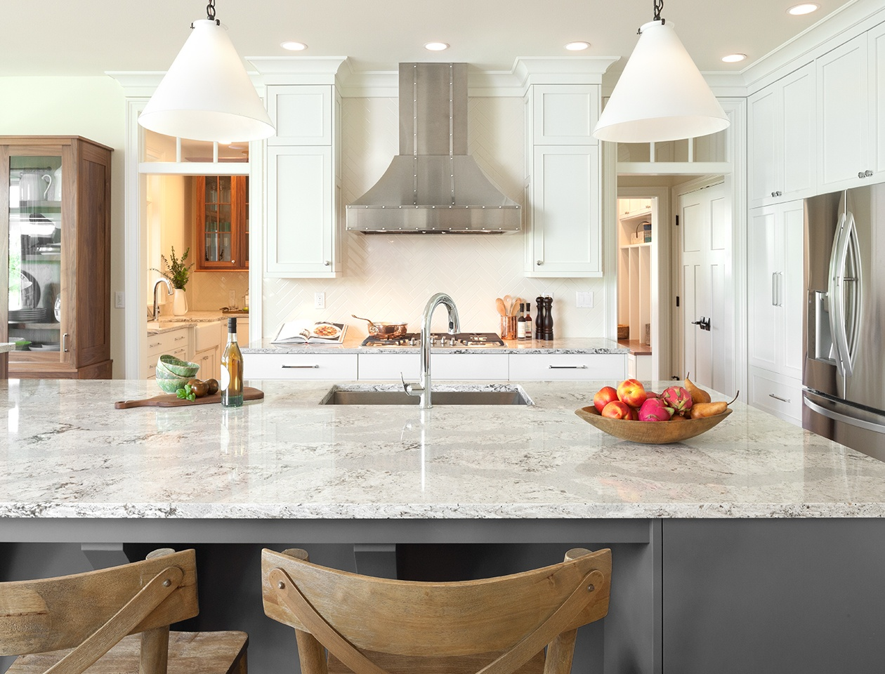 countertops kitchen tool crock 15 stunning quartz countertop colors to gather inspiration from 3 haze blend