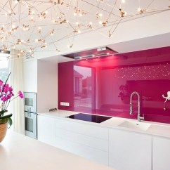 Glass Kitchen Backsplash Cushion Covers Cool Ways To Update A With View In Gallery