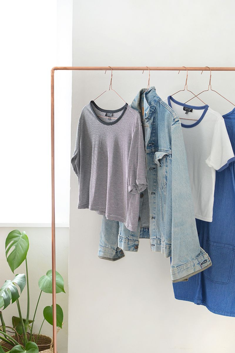 Prodigious! Chic And Practical DIY Clothes Racks That Put Your Wardrobe On Display