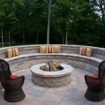 13 Brick Fire Pits And The Homes And Gardens That Surround Them