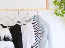 Chic and Practical DIY Clothes Racks That Put Your Wardrobe On Display images 1