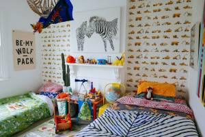 bedrooms wallpapers kid homedit construction treat