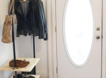 Chic and Practical DIY Clothes Racks That Put Your Wardrobe On Display images 4