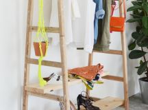 Chic and Practical DIY Clothes Racks That Put Your Wardrobe On Display images 8