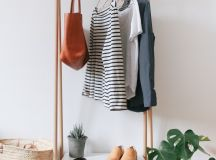 Chic and Practical DIY Clothes Racks That Put Your Wardrobe On Display images 7
