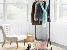 Chic and Practical DIY Clothes Racks That Put Your Wardrobe On Display images 9