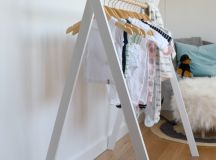 Chic and Practical DIY Clothes Racks That Put Your Wardrobe On Display images 6
