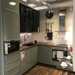 Ikea Kitchen Countertops Motion Sensor Faucet Create A Stylish Space Starting With An Design High Gloss Doors And Drawers Add Color Shine To Kitchens