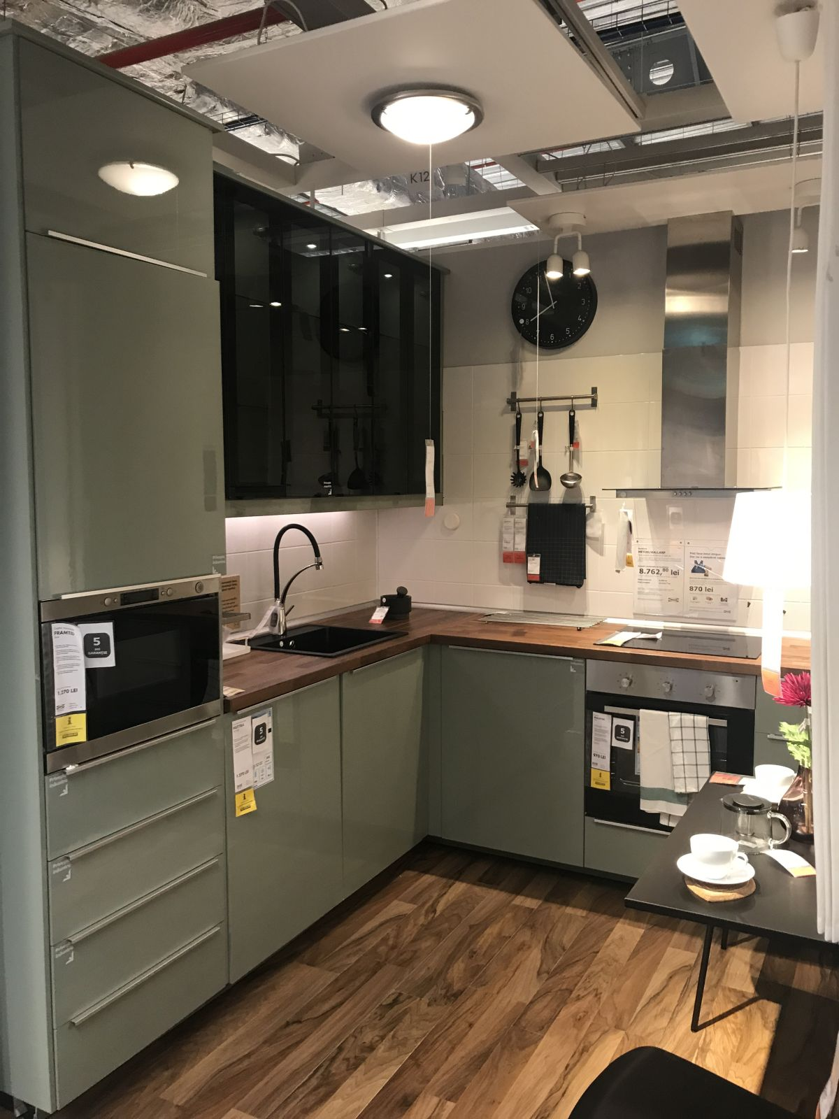 kitchen ikea home depot storage cabinets create a stylish space starting with an design high gloss doors and drawers add color shine to kitchens
