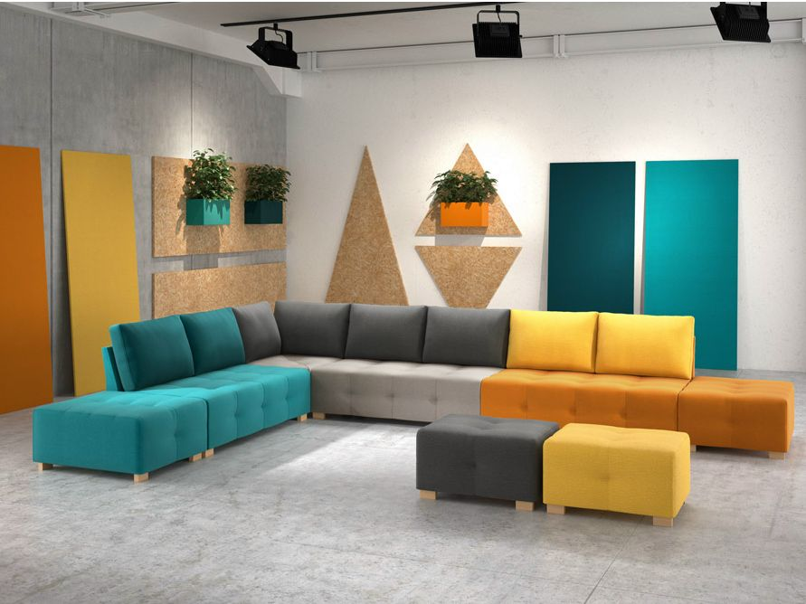 modern sectional sofas with a knack for