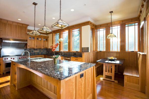 Craftsman Style Interior Design Kitchen