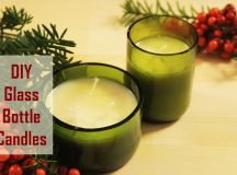 DIY Christmas Gift Idea: Glass Bottle Candle images 0