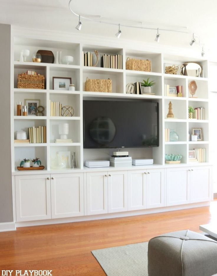 diy shelves in living room china furniture 10 ways to your own built view gallery
