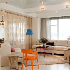 Living Room Curtain Pics Stools India How To Reinvent Spaces With Dividers View In Gallery