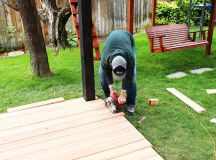 How to Trim a Redwood Deck: Finishing Touches Before Staining & Sealing images 5