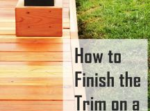 How to Trim a Redwood Deck: Finishing Touches Before Staining & Sealing images 0