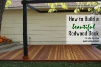 How to Build a Redwood Deck: A Step-by-Step Guide from ...