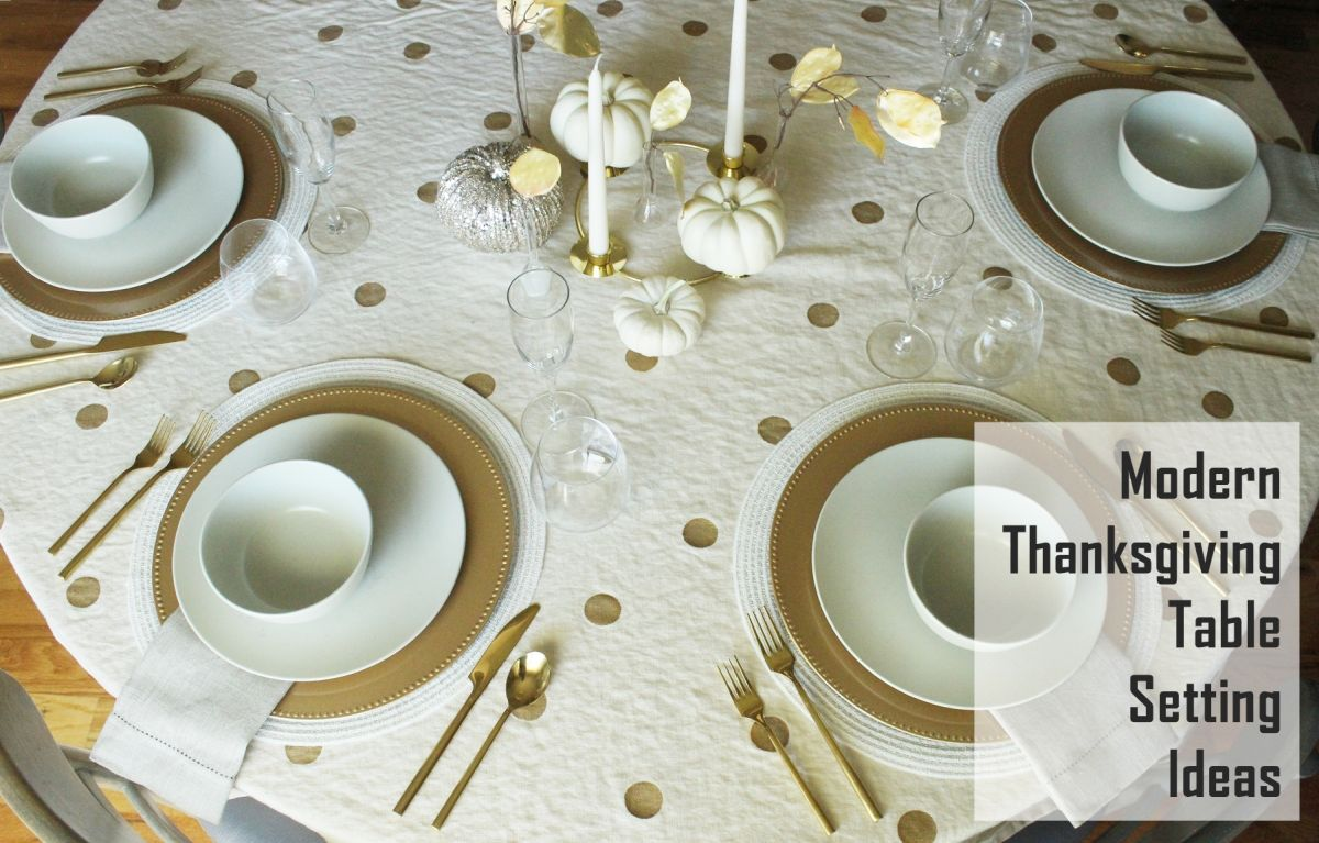 12 modern thanksgiving table