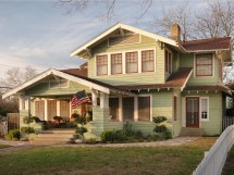 Arts and Crafts Style Home Exteriors Images