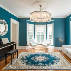 Color For Living Rooms Decorating Ideas With Grey Walls 10 That Boast A Teal View In Gallery