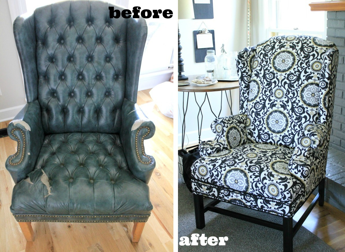 how much fabric do i need to reupholster a chair black kitchen covers makeovers inspire you