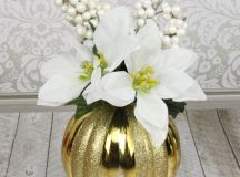 Christmas Ornament Floral Table Decor images 10