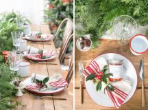 15 Christmas Table Settings to Win You Best Host images 1