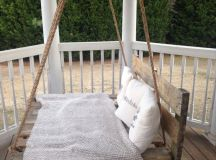 Porch Swing Plans For Wonderfully Relaxing Afternoons images 13