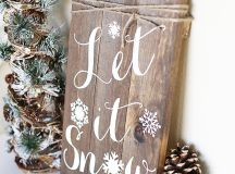 Charming DIY Decorations For A Rustic Christmas images 26