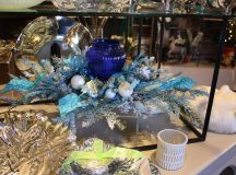 In recent times, blue has become more of a mainstream Christmas color.