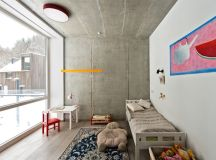 The children's bedrooms are small and simple but quite charming and pretty cozy and colorful